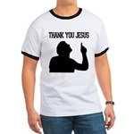 Thank You Jesus - Tebowing Ringer T