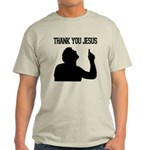 Thank You Jesus - Tebowing Light T-Shirt