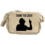 Thank You Jesus - Tebowing Messenger Bag