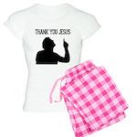 Thank You Jesus - Tebowing Women's Light Pajamas