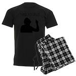 Thank You Jesus - Tebowing Men's Dark Pajamas