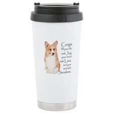 Pembroke Corgi Travel Mug