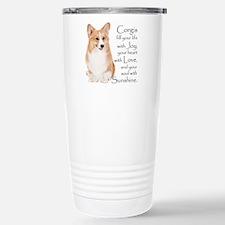 Pembroke Corgi Travel Mug