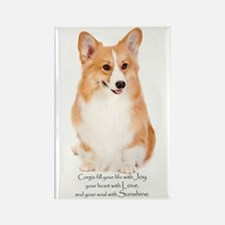 Pembroke Corgi Rectangle Magnet