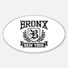 Bronx NY Sticker (Oval)