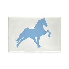 Walking horse Rectangle Magnet