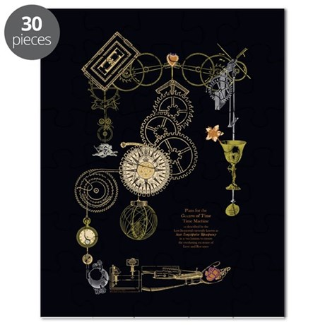 Steampunk Oceans of Time Puzzle