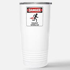 Natural Gas Stainless Steel Travel Mug