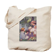 1900's By the River Tote Bag