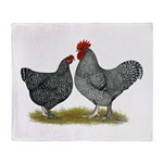 Maline Fowl Throw Blanket