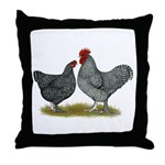 Maline Fowl Throw Pillow