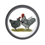 Maline Fowl Wall Clock