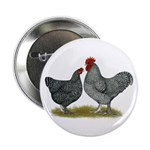"Maline Fowl 2.25"" Button"