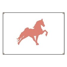 Cute Tennessee walking horse Banner