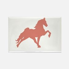 Cool Tennessee walking horses Rectangle Magnet