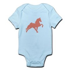 Funny Tennessee walking horse Infant Bodysuit