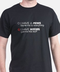 I have boobs T-Shirt