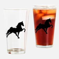 Walking horses Drinking Glass