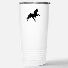 Cool Black horse Travel Mug