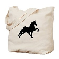 Unique White horse Tote Bag