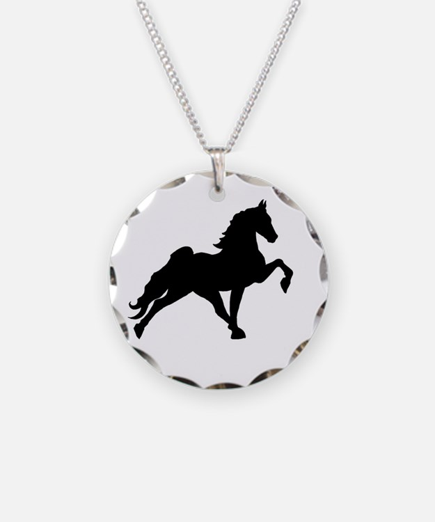 Cute Walking horse Necklace