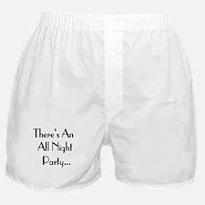 Late Bar Boxer Shorts