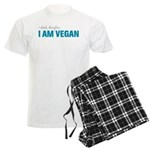 I Think, Therefore, I am Vegan Men's Light Pajamas