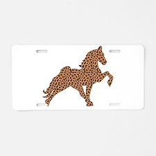 Tennessee walker horses Aluminum License Plate