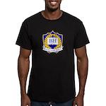 Buckner Hall Men's Fitted T-Shirt (dark)