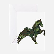 Funny Tennessee walking horses Greeting Card