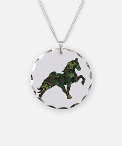 Cool Walking horse Necklace