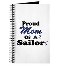 Proud Mom 2 Sailors Journal