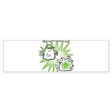 team-amoeba-greenest Bumper Bumper Sticker