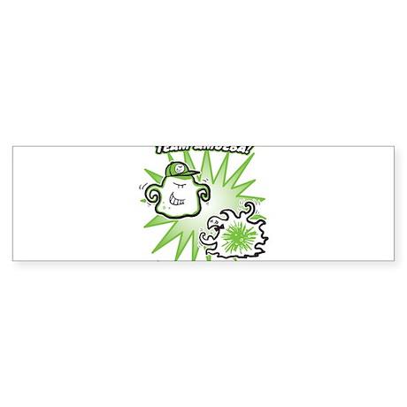 team-amoeba-greenest Bumper Sticker