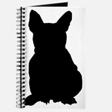 French Bulldog Silhouette Journal