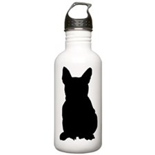 Christmas or Holiday French Bulldog Silhouette Sta