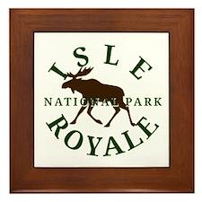 Isle Royale National Park Framed Tile