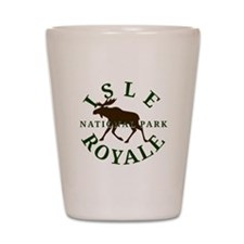 Isle Royale National Park Shot Glass