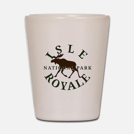 Isle Royale National Park Shot Glass