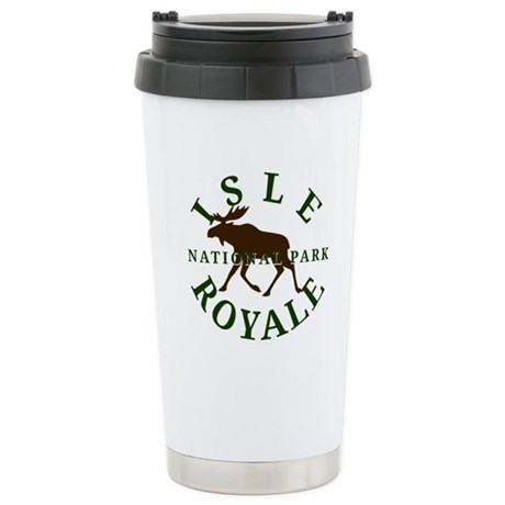 Isle Royale National Park Stainless Steel Travel M