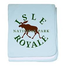 Isle Royale National Park baby blanket