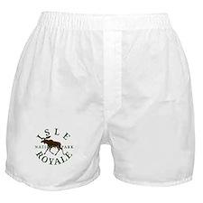 Isle Royale National Park Boxer Shorts