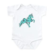 Funny Horse patterns Infant Bodysuit
