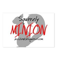 Squirrely Minion Postcards (Package of 8)