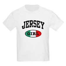 Italian Jersey Girl Kids T-Shirt