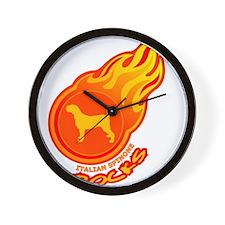 Italian Spinone Wall Clock
