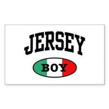 Italian Jersey Boy Rectangle Decal