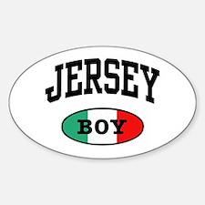 Italian Jersey Boy Oval Decal