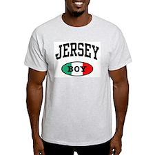 Italian Jersey Boy Ash Grey T-Shirt
