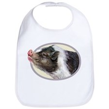 Potbellied Pigs Bib